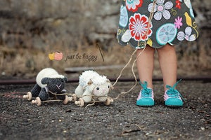 Image of Sheep Pull Toy PDF Pattern