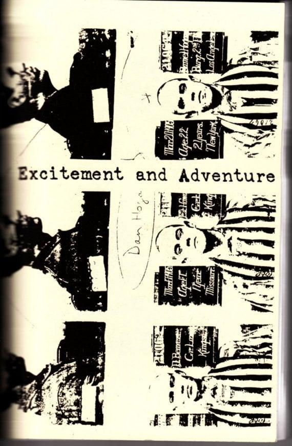 Image of Excitement and Adventure zine