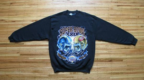 Image of Vintage SUPER BOWL XXIX Sweatshirt