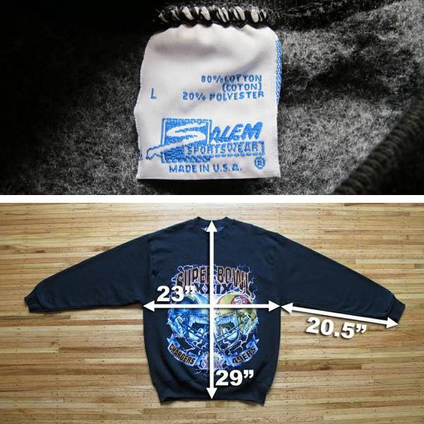 Image of Vintage SUPER BOWL XXIX Sweatshirt
