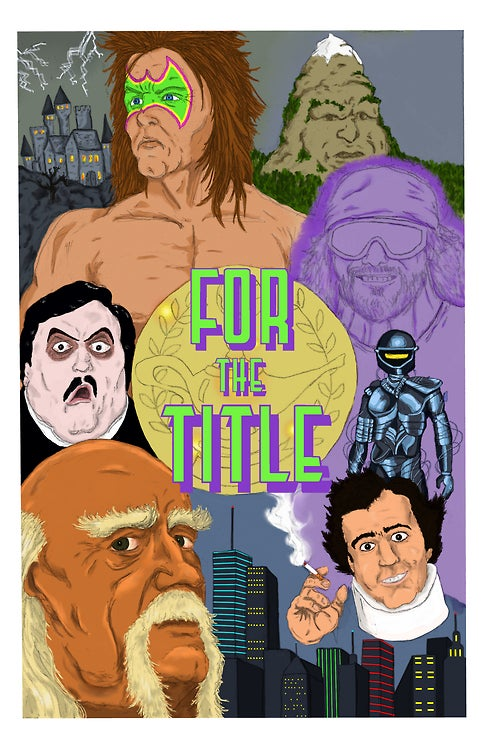 Image of 'FOR THE TITLE' Poster/Print