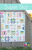 Image of Super Star PDF quilt pattern