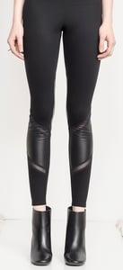Image of Wrap Leather Legging