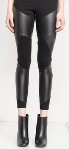 Image of Labyrinth Leather Legging