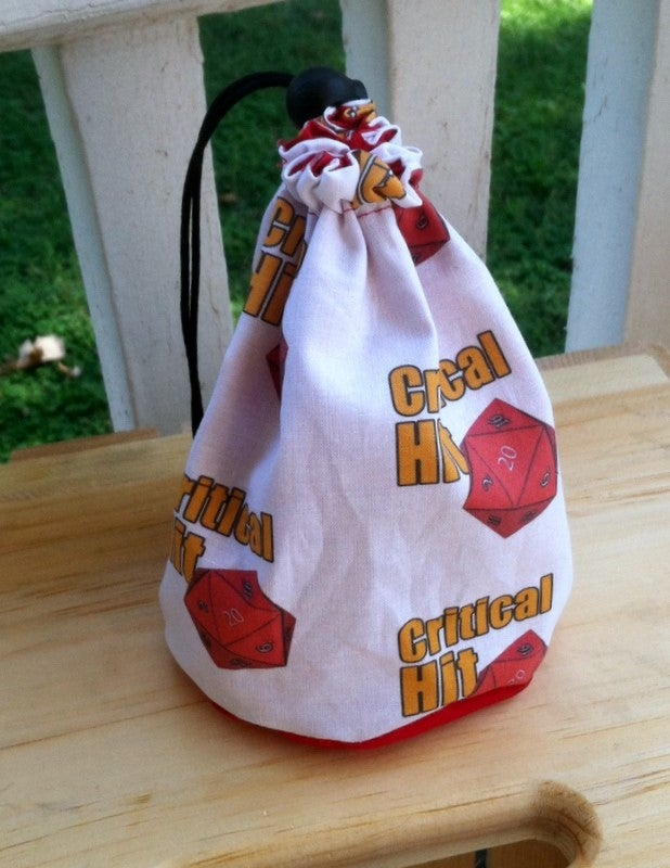 Image of Critical Hit Dice Bag--New Style!