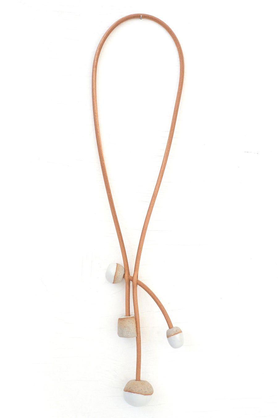 Image of toggle necklace