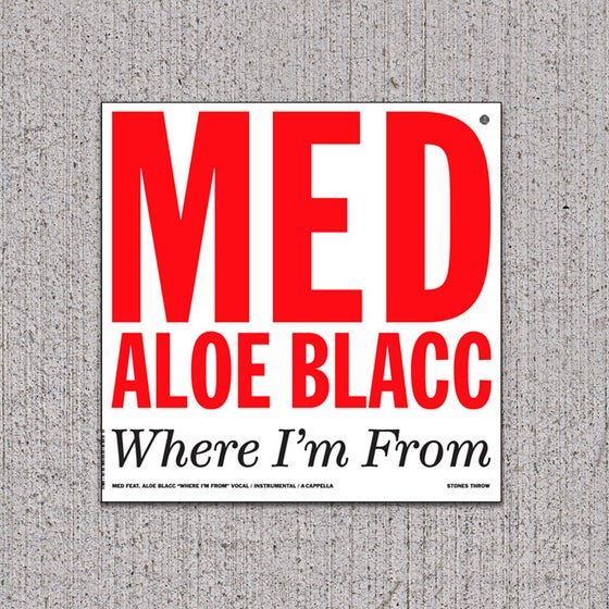 Image of MED/ALOE BLCC - Where I'm From