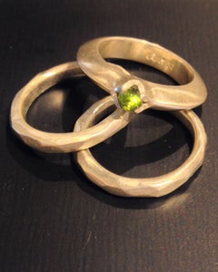 Image of Peridot + Facet Stackers