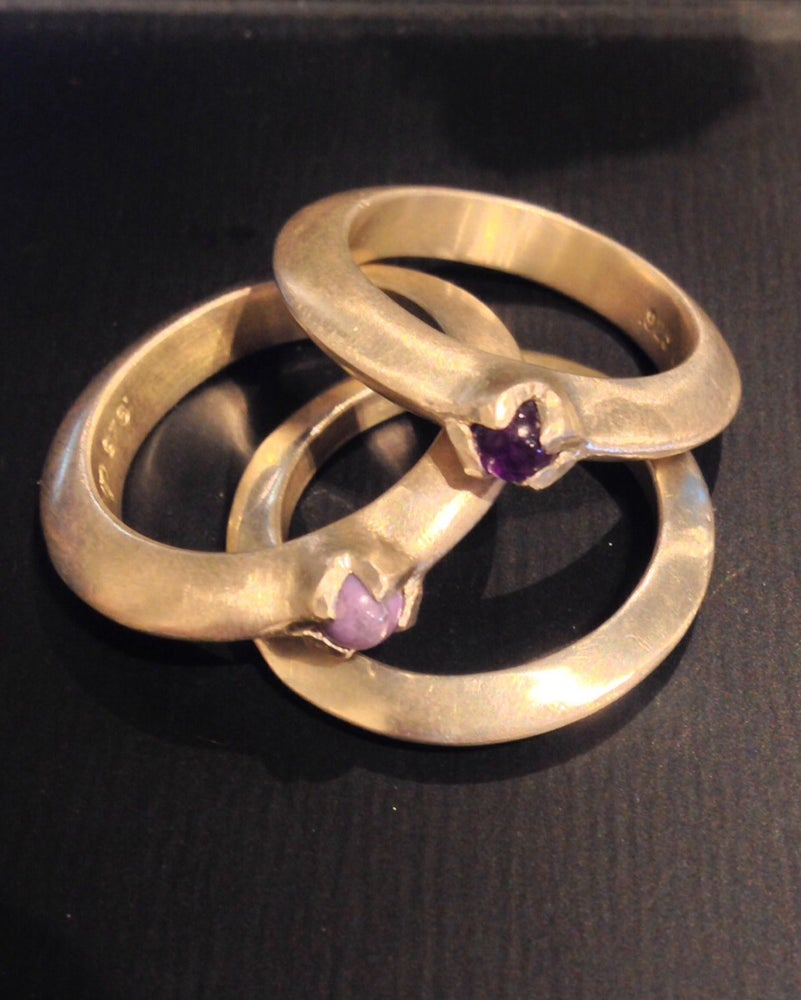 Image of Purple Stackers