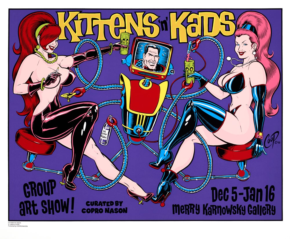 Image of KITTENS & KADS Silkscreen Print