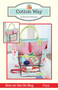 Image of Sew on the Go Bag PDF Pattern #975