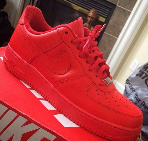 Image of Red October AF1s