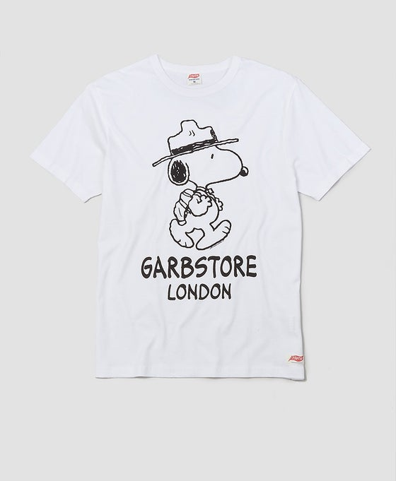 Image of TSPTR X Garbstore Snoopy Ranger T-Shirt