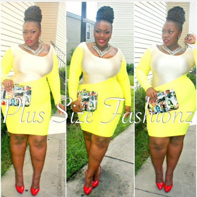 Sunshine Dress - Plus Size Fashionz
