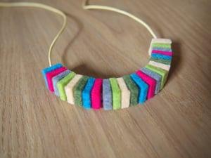Image of 100% Wool Felt Necklace no.3
