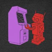 Image of Robot Arcade T-shirt - Unisex XS