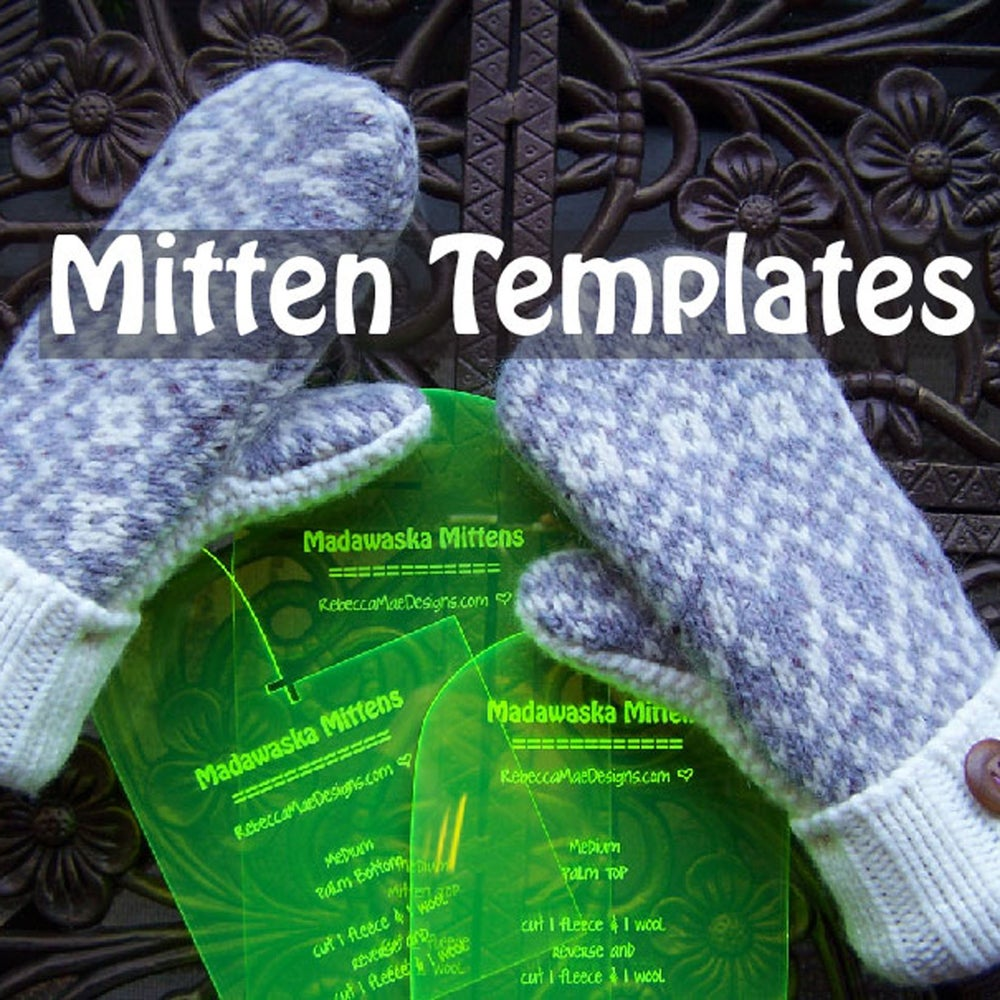 Image of Mitten Templates