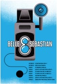 Image of Belle & Sebastian 2014 Tour Poster
