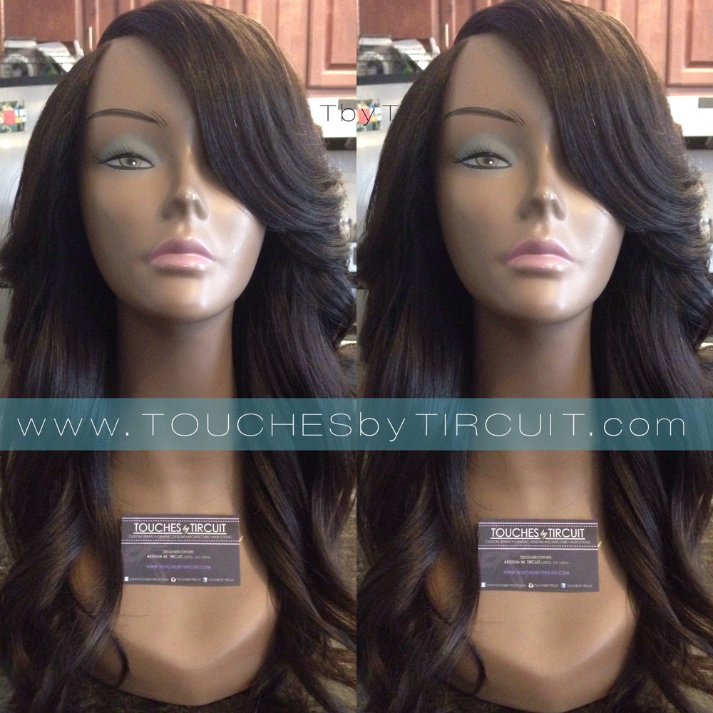 Image of Full Wig with Lace Closure