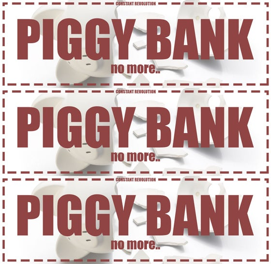 Image of CR PIGGY BANK SLAPS