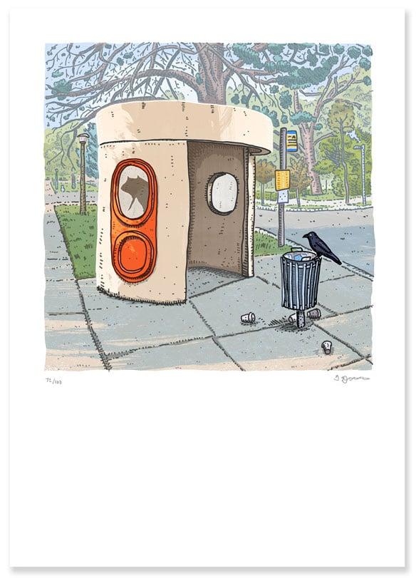 Image of parkes, King George Terrace digital print