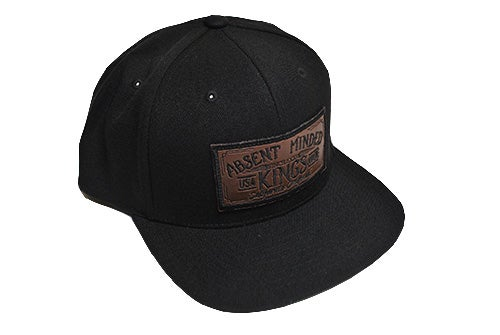 Image of BLACK KING SNAPBACK
