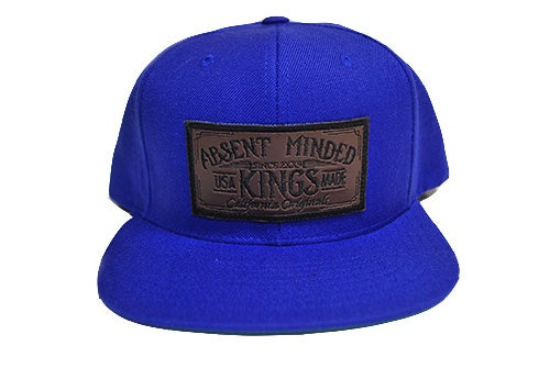 Image of BLUE KING SNAPBACK