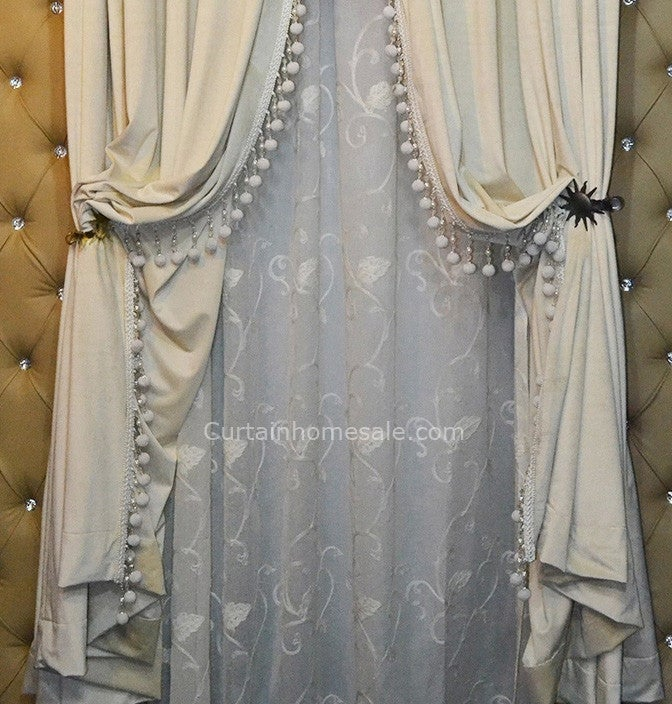 Image of The curtain can show the host taste