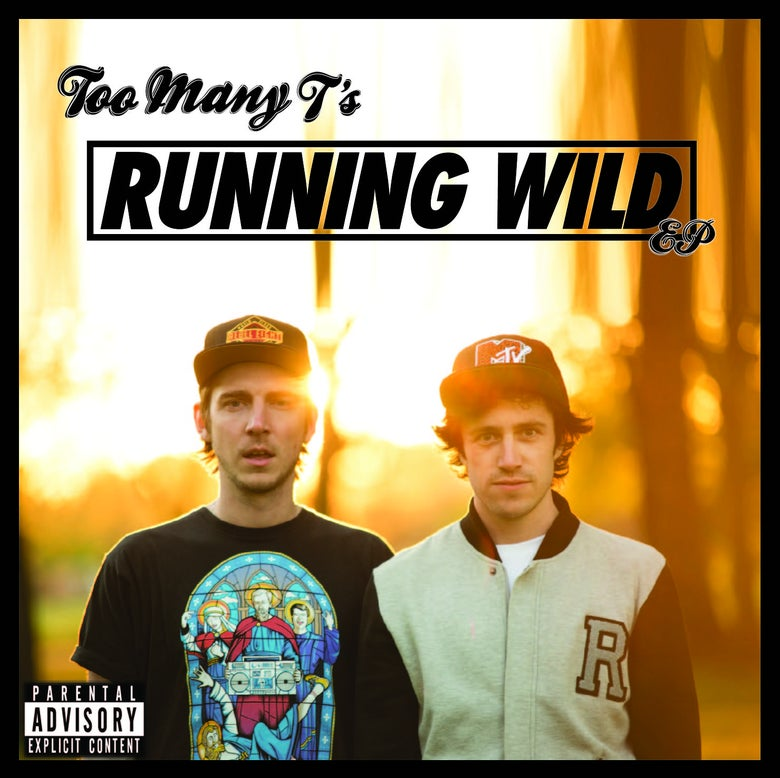 Image of Running Wild EP + Sticker pack