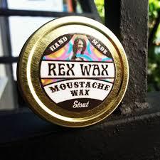 Image of REX WAX: STOUT (FIRM), UNSCENTED MOUSTACHE WAX