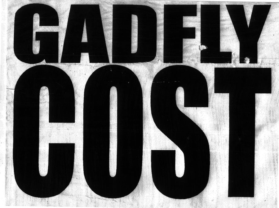 Image of GADFLY COST (1 of 2)