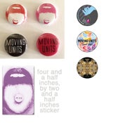 Image of M > U Buttons + Sticker
