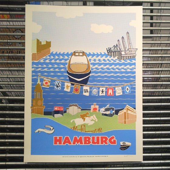 Image of HAMBURG <br>(art print)