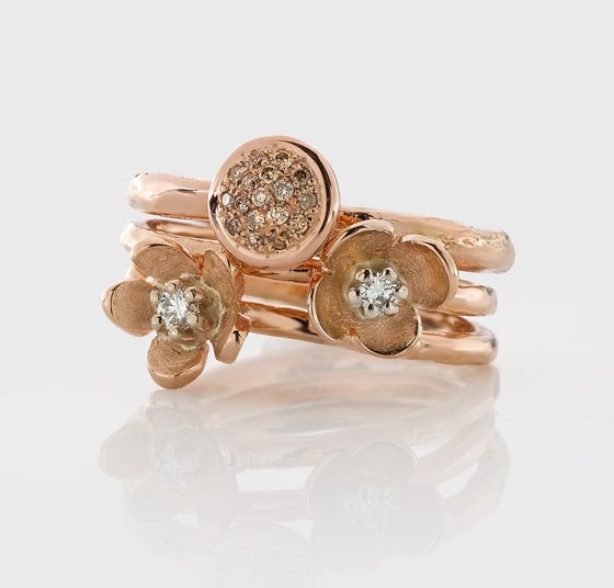 Beeld van Stacking ring rose gold