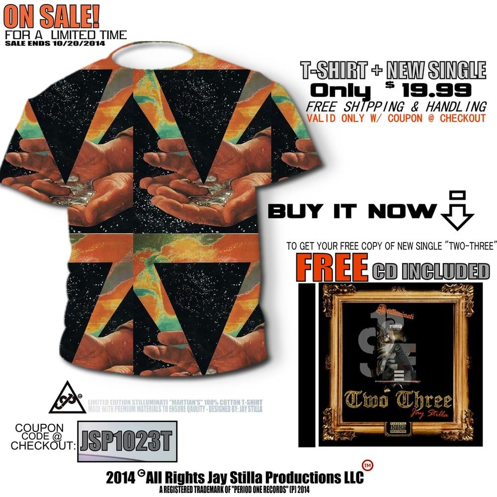 Image of Slim Fit Cotton T-Shirt [includes copy of Album Single]