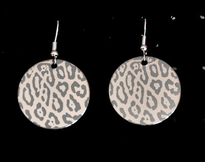 Image of Boucles d'oreilles inox motifs animaliers