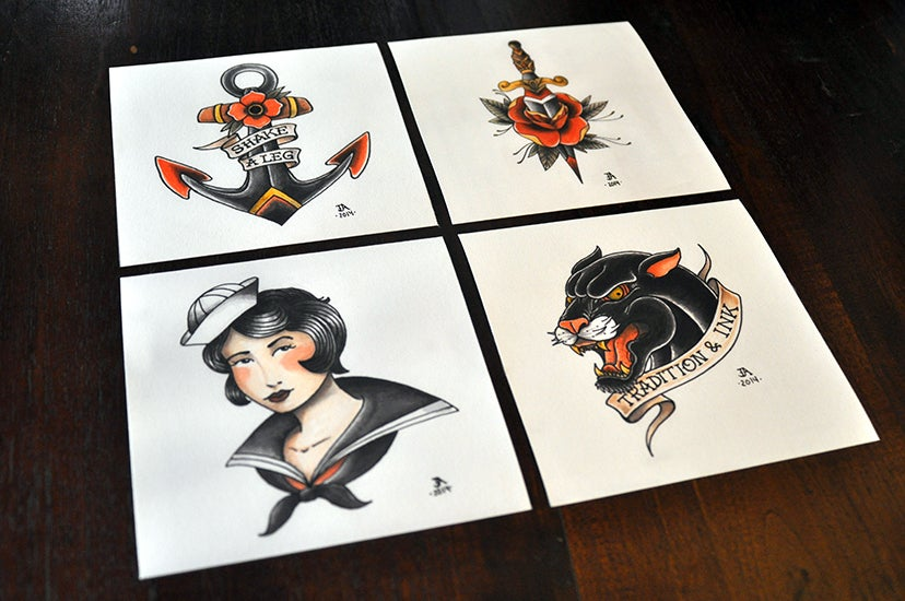 Image of Tradition & Ink Prints