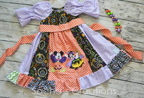 Image of Double Trouble Mickey Minnie Dress