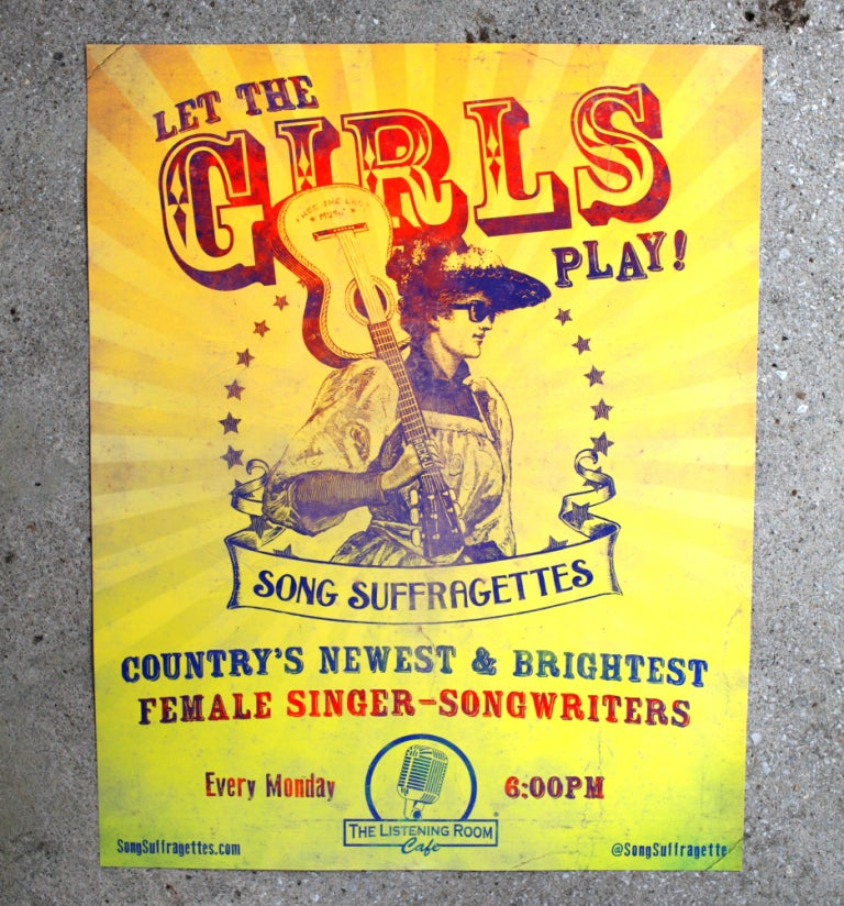 Image of Song Suffragettes Poster
