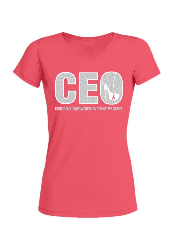 Image of Women's C.E.O. Tee (Pink)