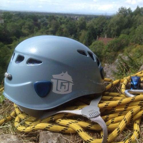 Image of Helmet Stickers (PAIR)