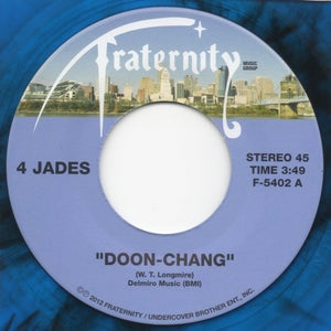 "Image of Doon Chang / Gee How I Miss You - 7"" Blue Vinyl"