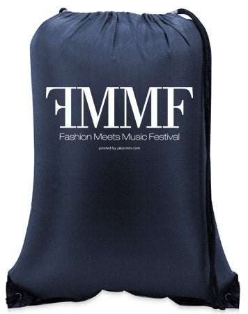 Image of FMMF Drawstring Backpack