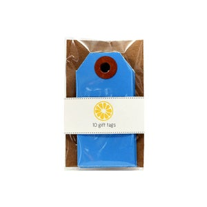 Image of Dark Blue Gift Tags