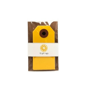 Image of Yellow Gift Tags