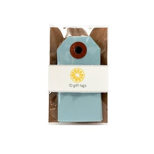 Image of Light Blue Gift Tags