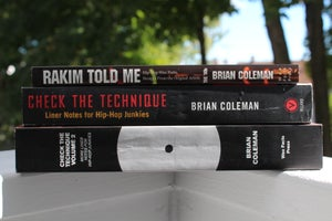 "Image of 3 BOOK ""JS"" BUNDLE - ""Rakim Told Me,"" ""Check the Technique Vol. 1"" and ""Check the Technique Vol. 2"""