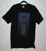 Image of Tshirt | This Island Our Funeral - Black/Blue