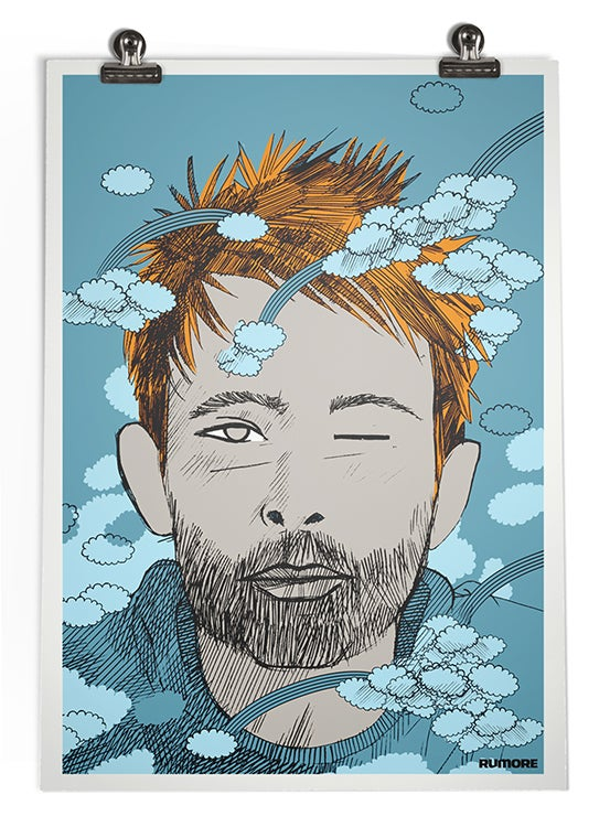 Image of THOM YORKE POSTER