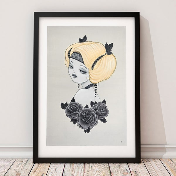 Image of 'Honey' Limited Edition Art Print